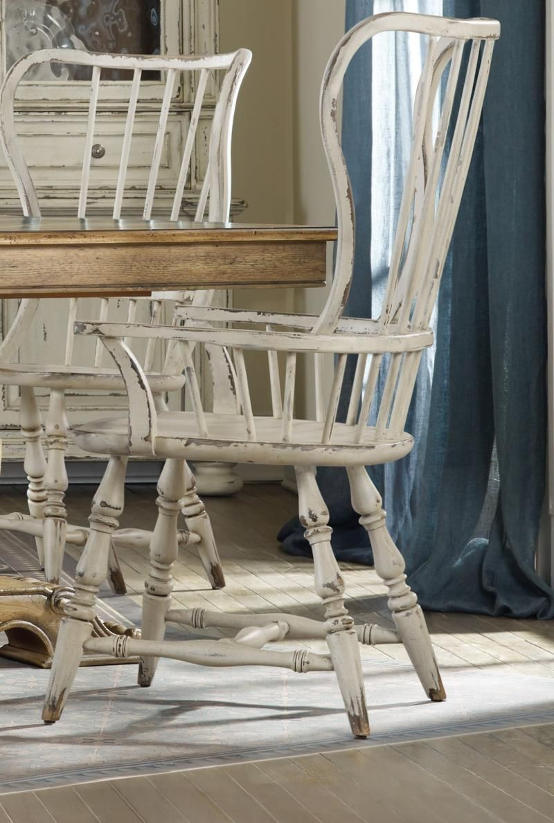 Antique white spindle chairs quick ship french dining