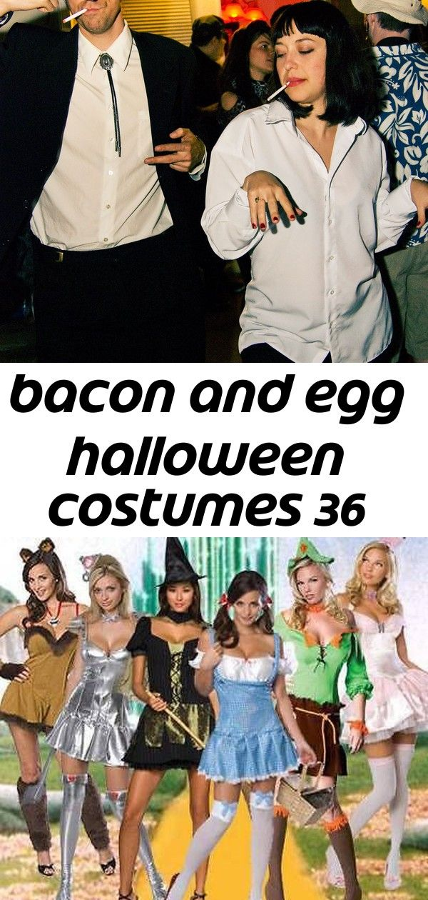 Bacon and egg halloween costumes 36 #scarecrowcostumediy