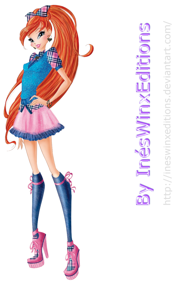 Bloom School Fairy Couture - Winx Club 7 by InesWinxEditions.deviantart.com on @DeviantArt