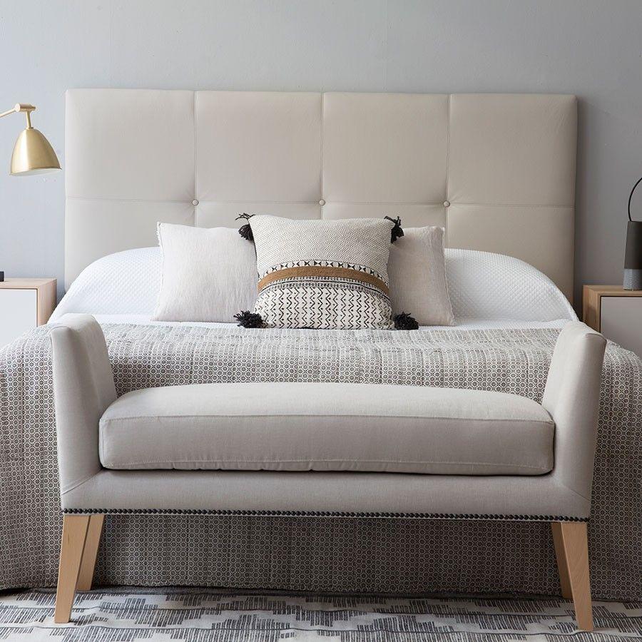 Blum banqueta beige ideas for home pinterest dormitorio banquetas y camas - Banquetas para dormitorio ...