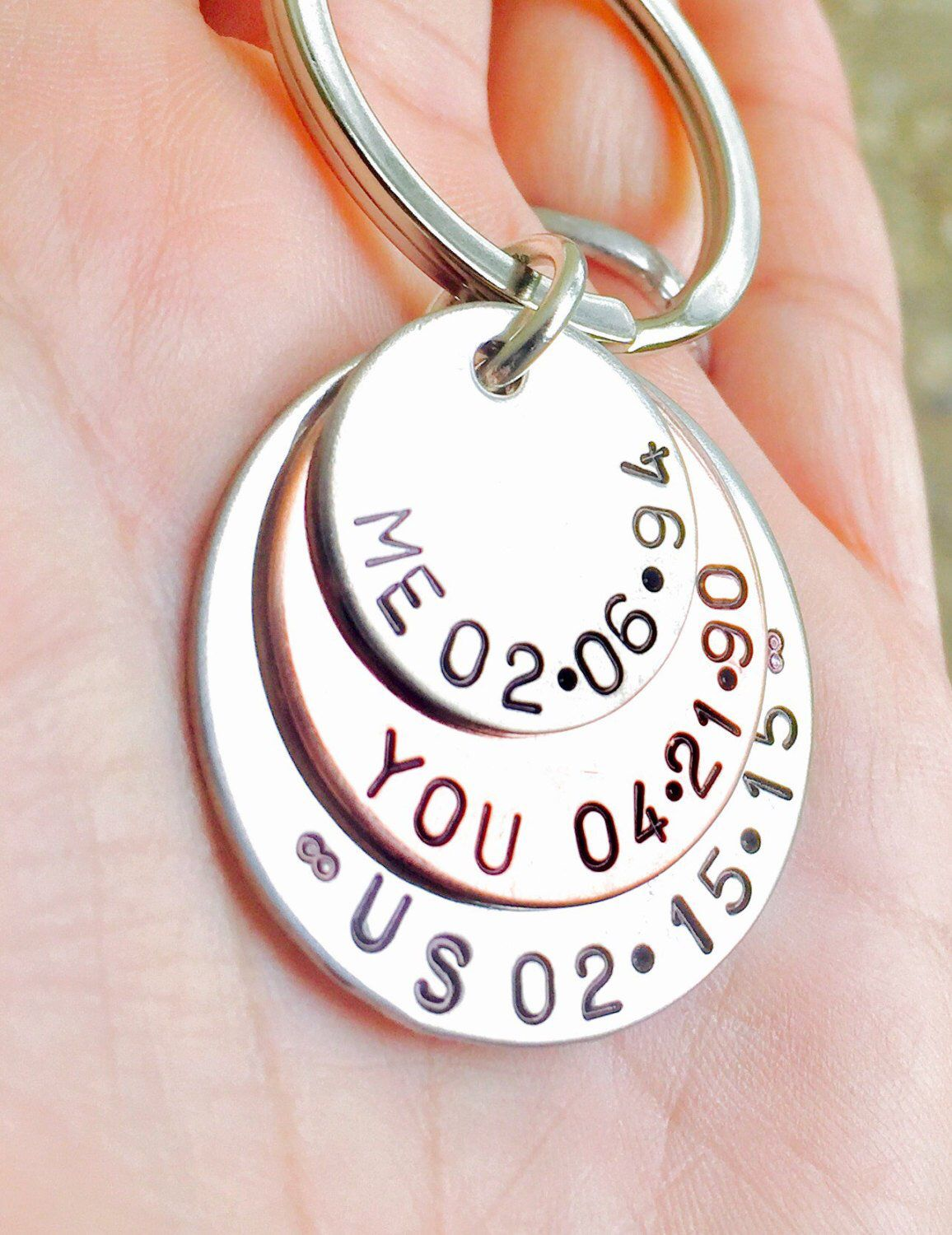 Me You Us Personalized Keychain Personalized Gifts For Him Key