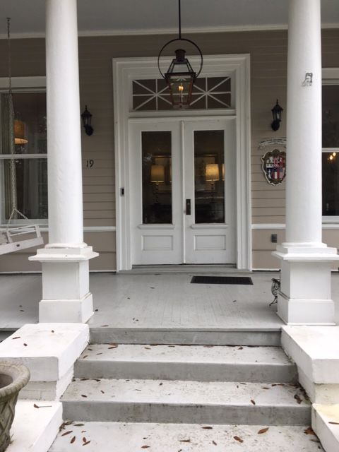 Your Size Recommendation On The Front Porch Lantern Was Perfect Our Complimentary Design