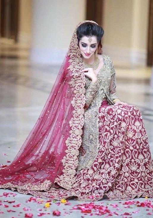Pakistani dulhan dress 2018 summer
