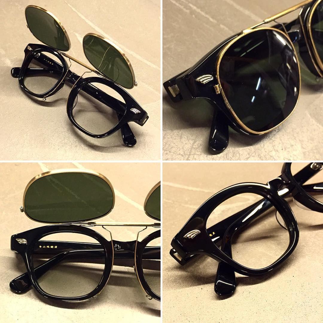 499b15b077 再度荷: HAKUSAN WEEPS BLACK with Clip-On Hand Made In Japan  hakusan   madeinjapan