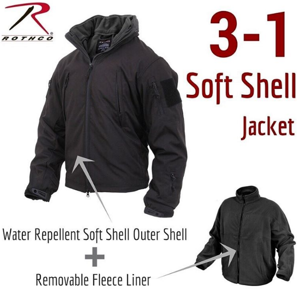 5aa96168d in-1 Spec Ops Soft Shell Jacket | Rothco Special Ops Gear | Jackets ...