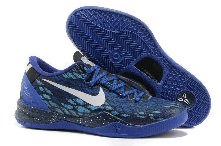 hot sale online 98610 13a2f Kobe 8 Year of the Snake RoyalBlue White Mamba