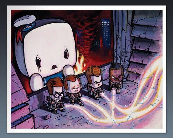 Billede fra http://www.liveforfilms.com/wp-content/uploads/2010/12/Ghostbusters-art.jpg.