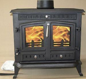 Cast Iron Wood Burning Stove 12 Kw 2 Door New Ja032 Hi032 With Images Stoves For Sale Wood Burning Stove Wood