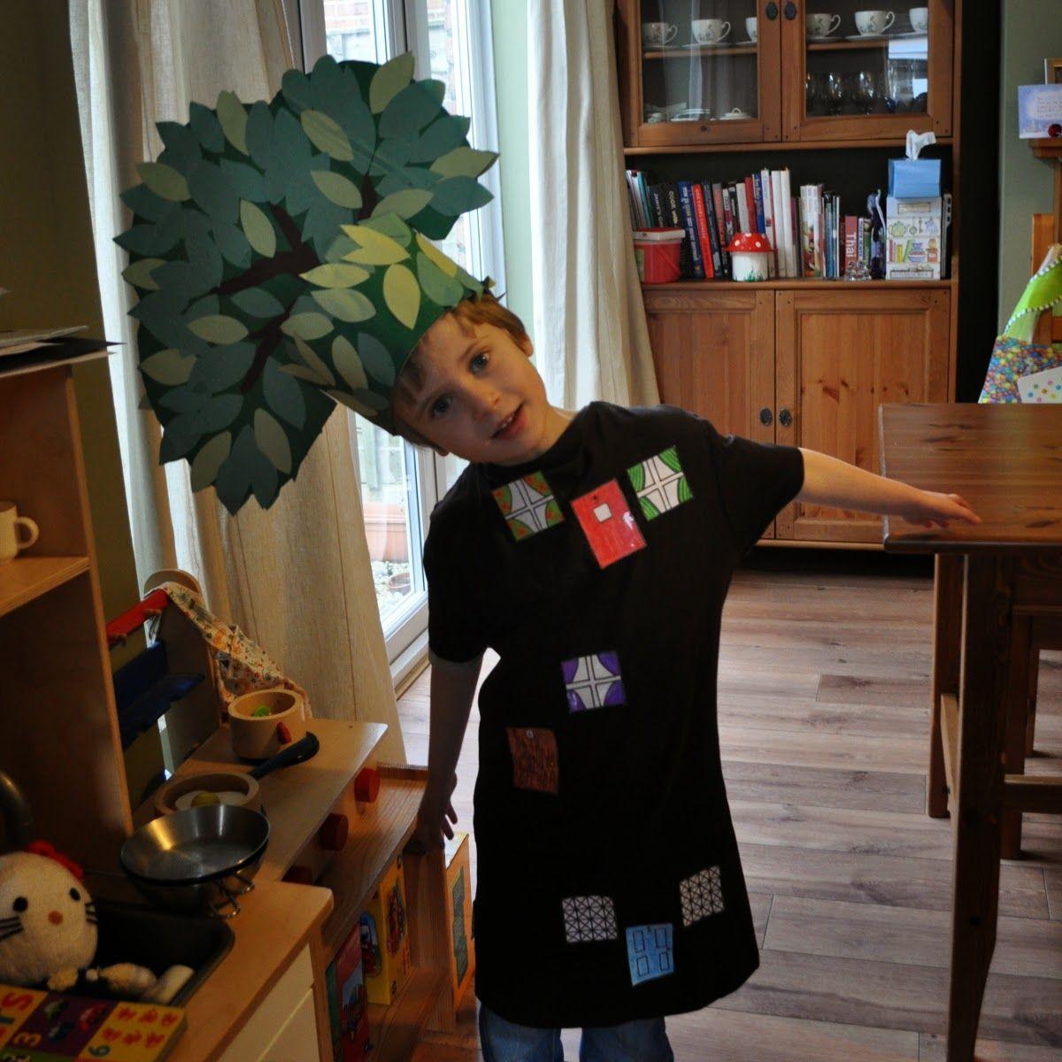Simple Tree Costume | DIY Baby Costumes | Pinterest | Tree costume ...
