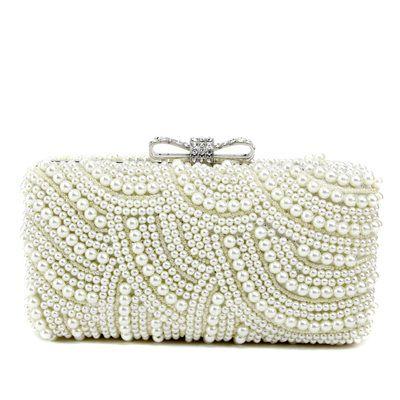 Lovely Pearl jossa Tekojalokivi Kytkimet (012051258)