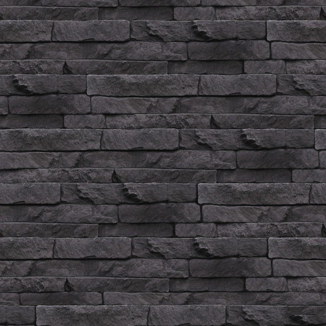 Odysee Wallpaper Black Brick Wallpaper Black Wallpaper Burke Decor
