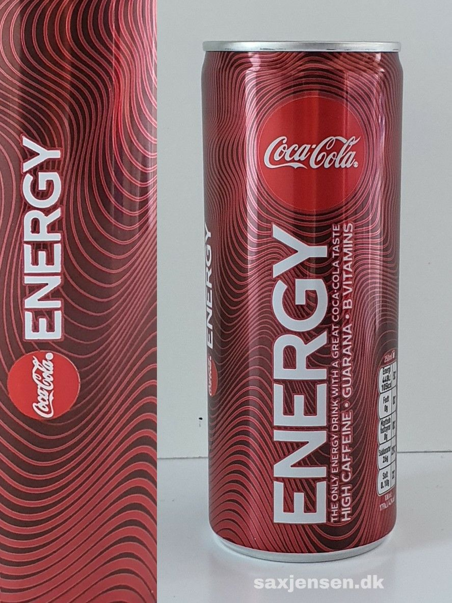 Cocacola Energy Energidrik Danmark Cocacola Energy Cocacolaenergy