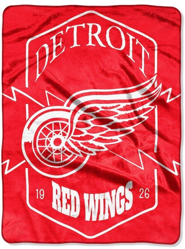 NHL Detroit Red Wings SilkTouch Throw Blanket Products Simple Red Wings Throw Blanket