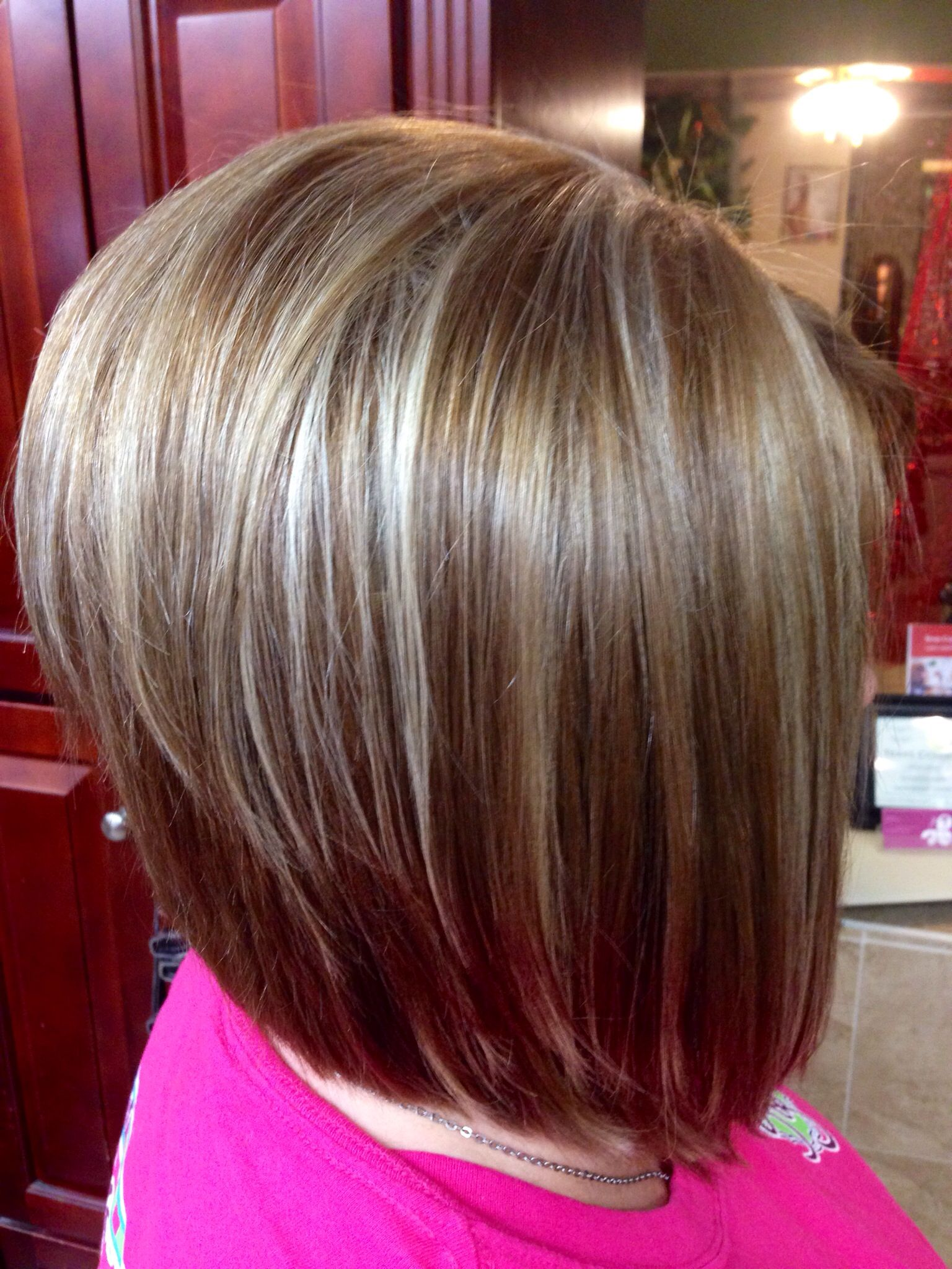 hair style ideas for hair pin by ℐєɑƞƞıє aяɑցօƞ on hair stacked bobs 2365