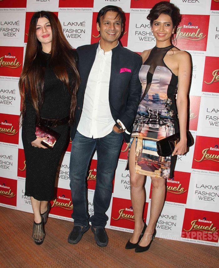 Ladies Man Vivek Oberoi enjoys the limelight along with