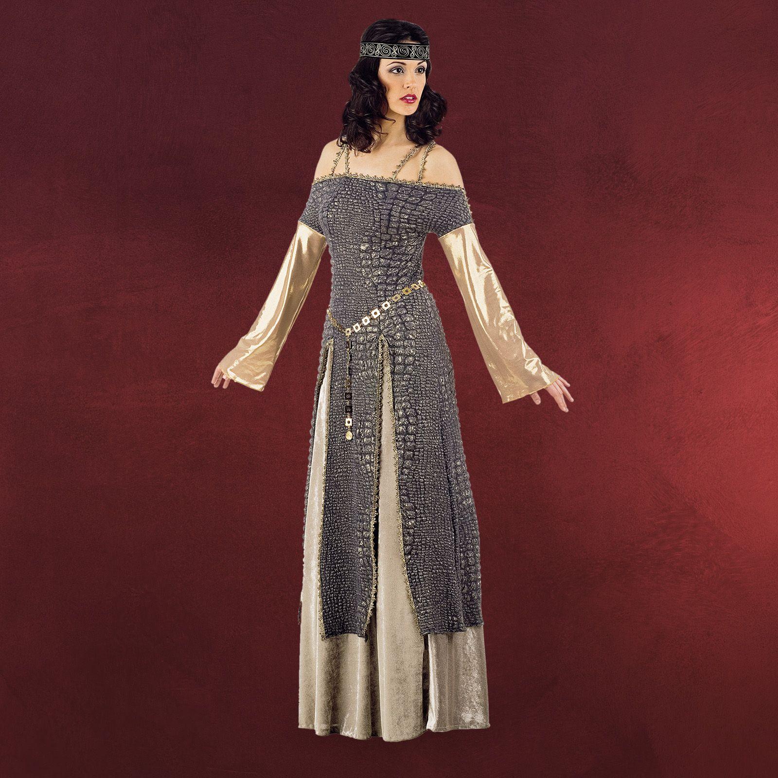 lady gineva - mittelalterkostüm (mit bildern) | kleid mit