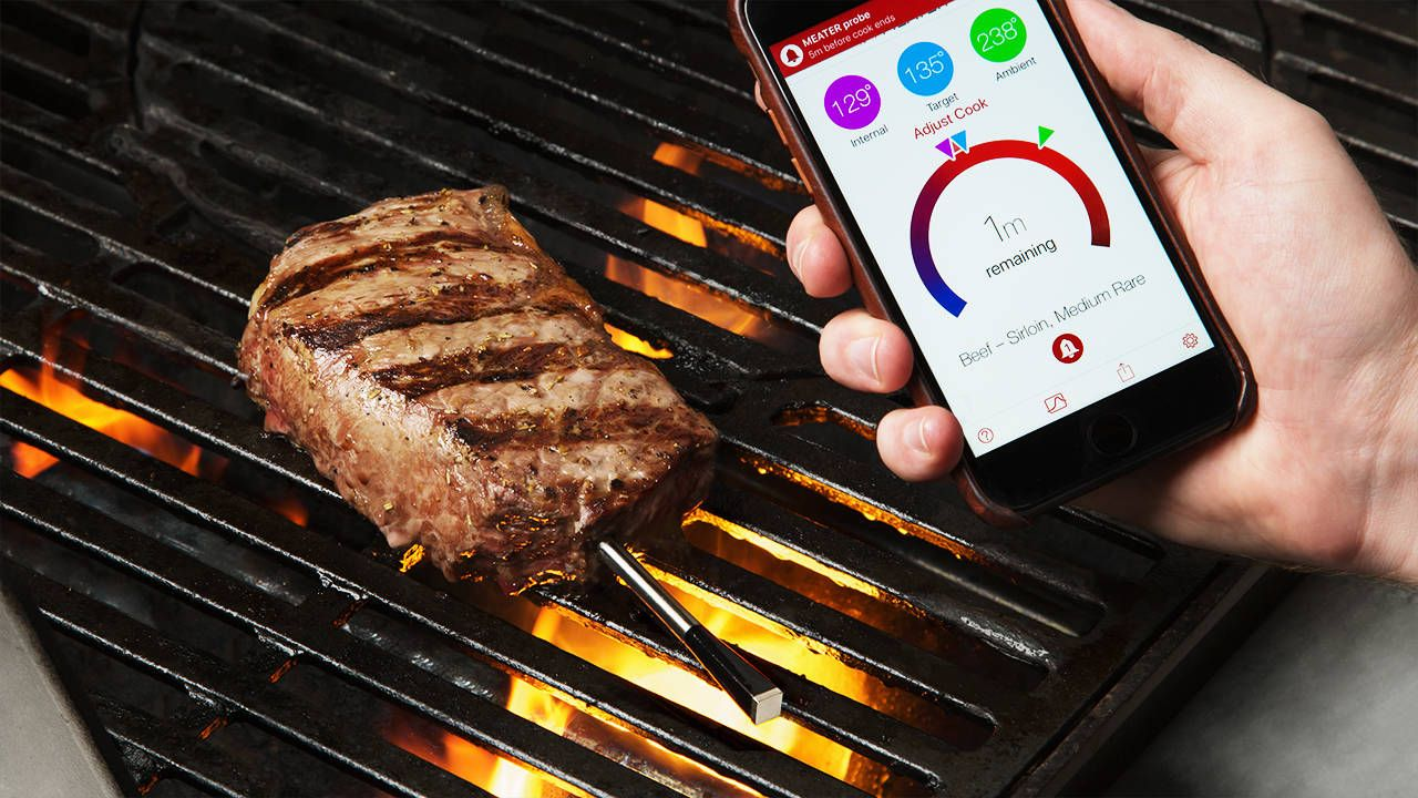 MEATER Wireless Smart Meat Thermometer Oven cooking