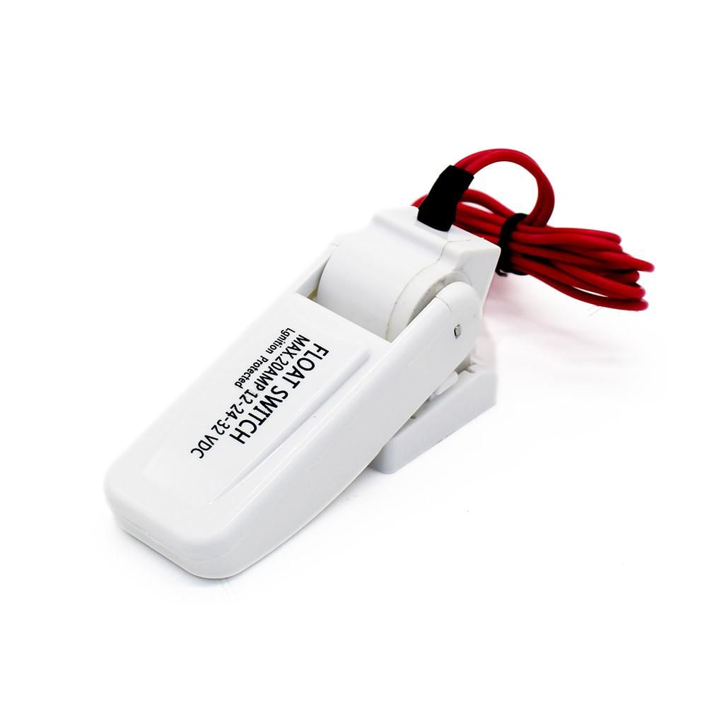 Dc 12v 24v Flow Sensor Float Switch For Boats Bilge Pump Automatic Electric Water Pump Available Level Controller 12 V Volt Electric Water Pump Water Pumps Electricity