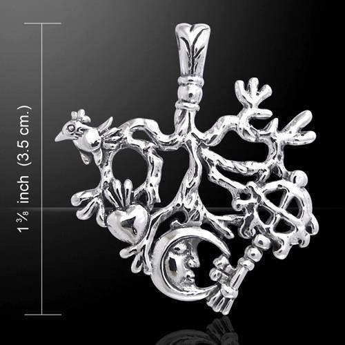 Cimaruta italian folk sterling silver pendant ward off the evil cimaruta italian folk sterling silver pendant ward off the evil eye aloadofball Gallery