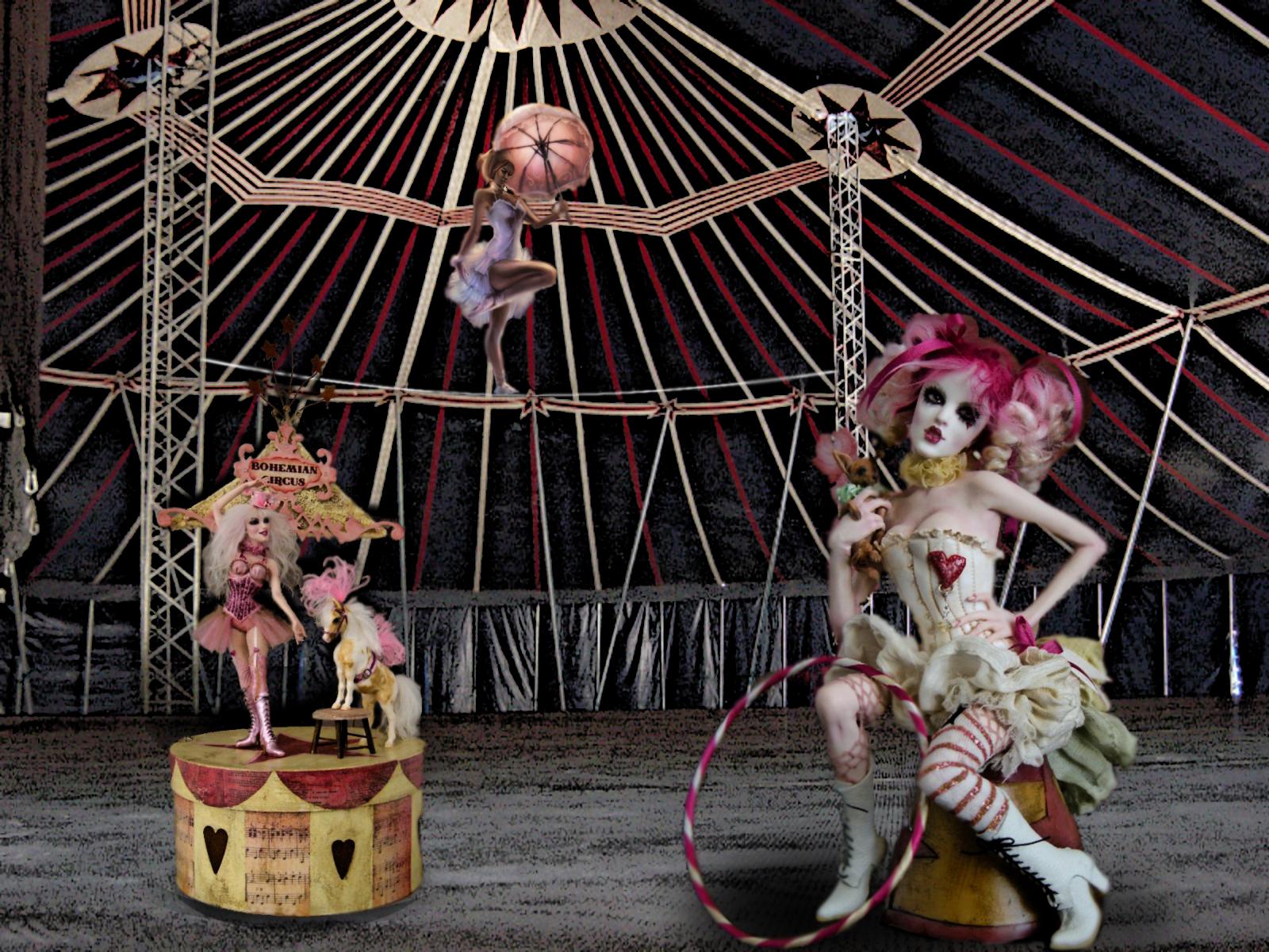Las muñecas del circo