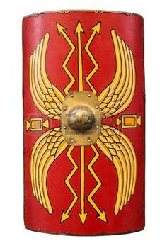 Escudo Romano Imagenes De Archivo Vectores Escudo Romano Fotos Libres De Derechos Escudo Romano Armadura Romana Romanos
