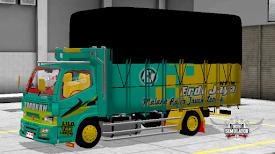 Mod Truck Canter Modifikasi Muatan Kayu Keren Terbaru Truk Kendaraan Mainan Main Game