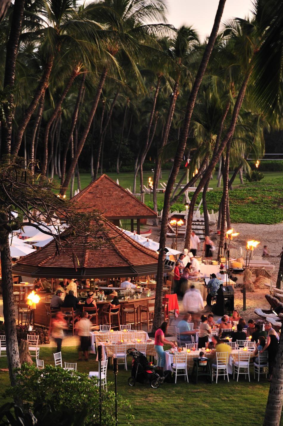 Beach party at Mauna Kea, Hawaii | Hawaii | Pinterest | Hawaii ...