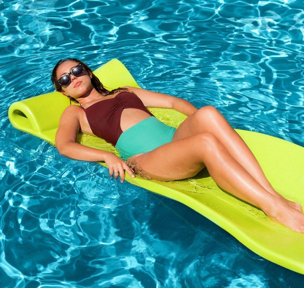Foam Pool Floating Water Vinyl Mat Lake Pool Lounge