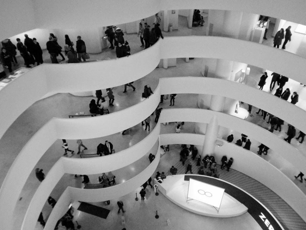 Inside the Guggenheim Museum