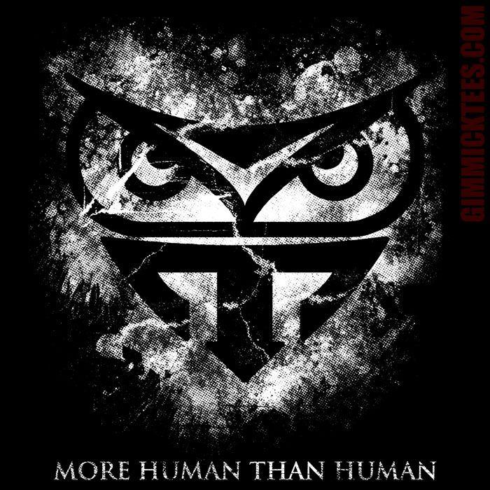 MORE HUMAN T-Shirt | Blade Runner homage at Gimmick Tees