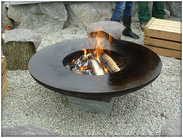 feuerring - Поиск в Google Fireplaces Modern outdoor \ indoor