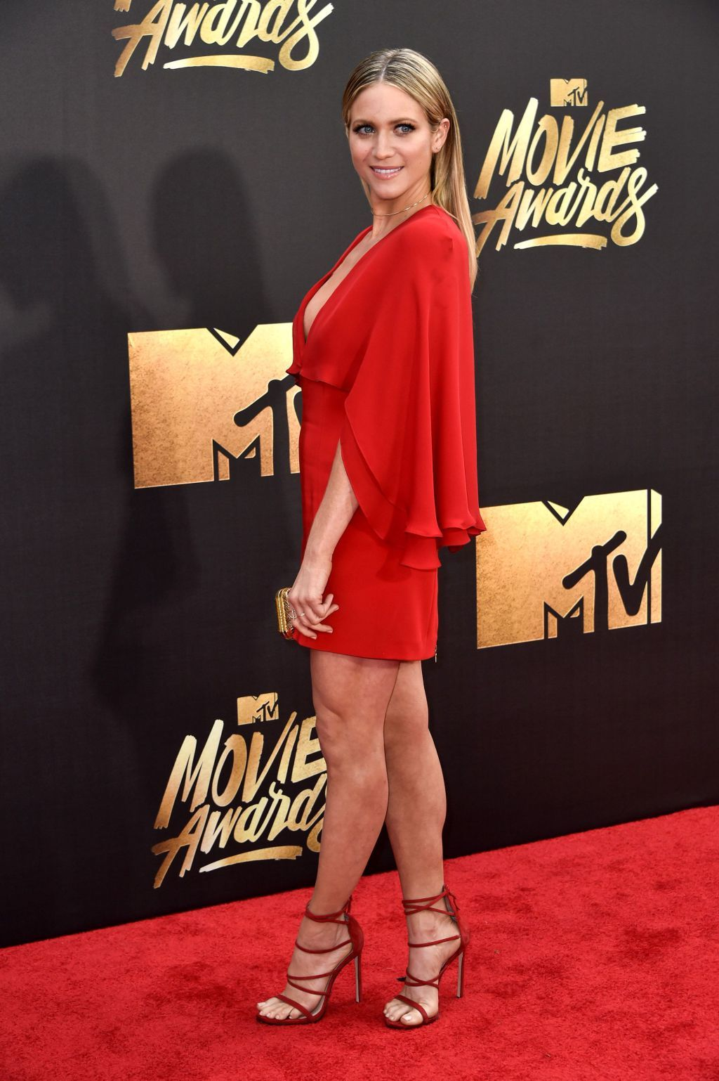 Brittany Snow in Haney at the MTV Movie Awards 2016 [Photo: Rob Latour]