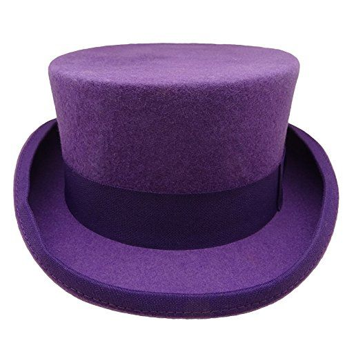 4329d815834 HATsanity Unisex Vintage Wool Felt Formal Tuxedo Coachman... https   www