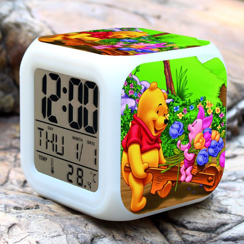 Coloring for Kids kids color changing alarm clock : Winnie the Pooh Alarm Clocks Hot sell Pooh Kids toy Alarm Clocks 7 ...
