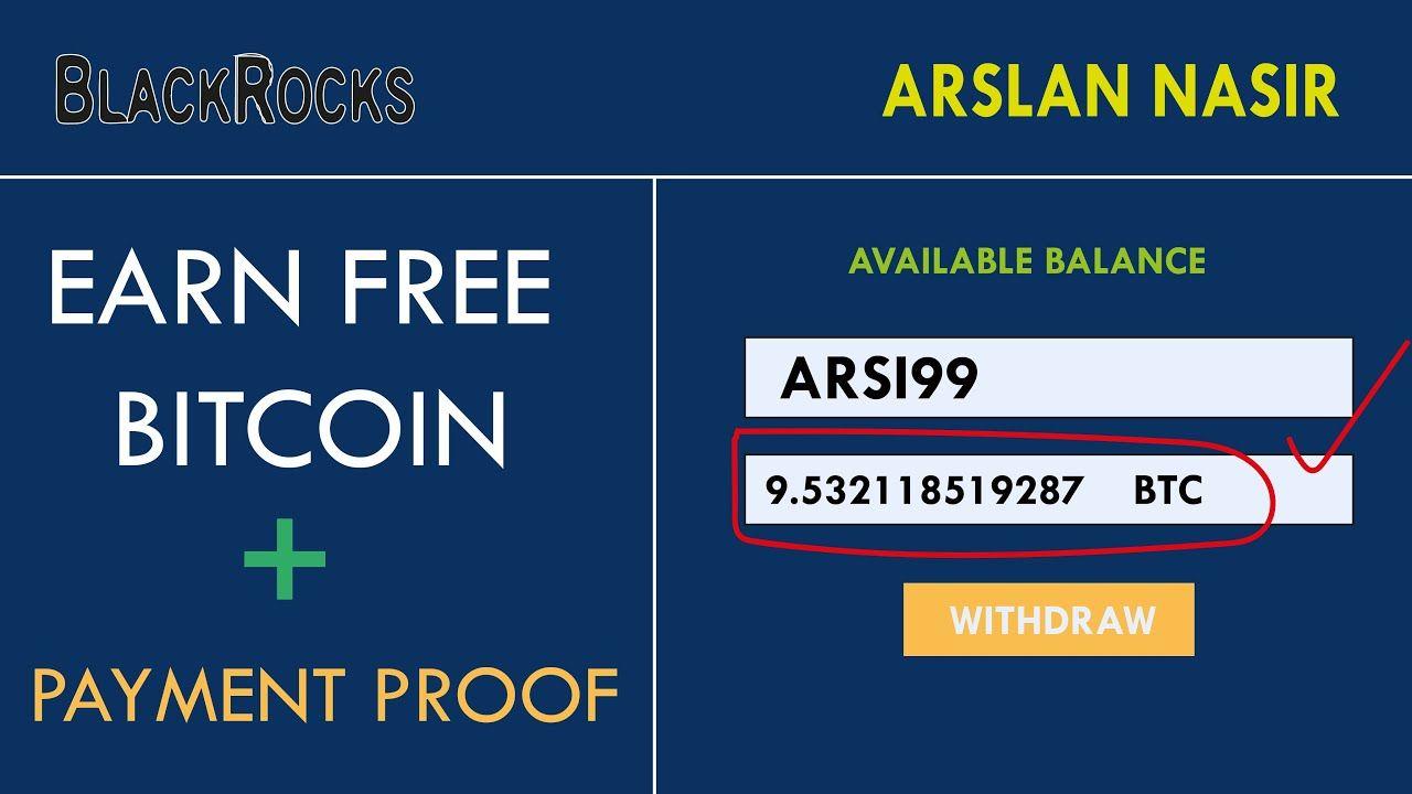 BlackRocks.biz - Earn Free Bitcoin 2020 - New Free Btc Earning ...