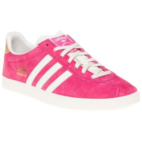 New-Womens-adidas-Pink-Gazelle-Og-Suede