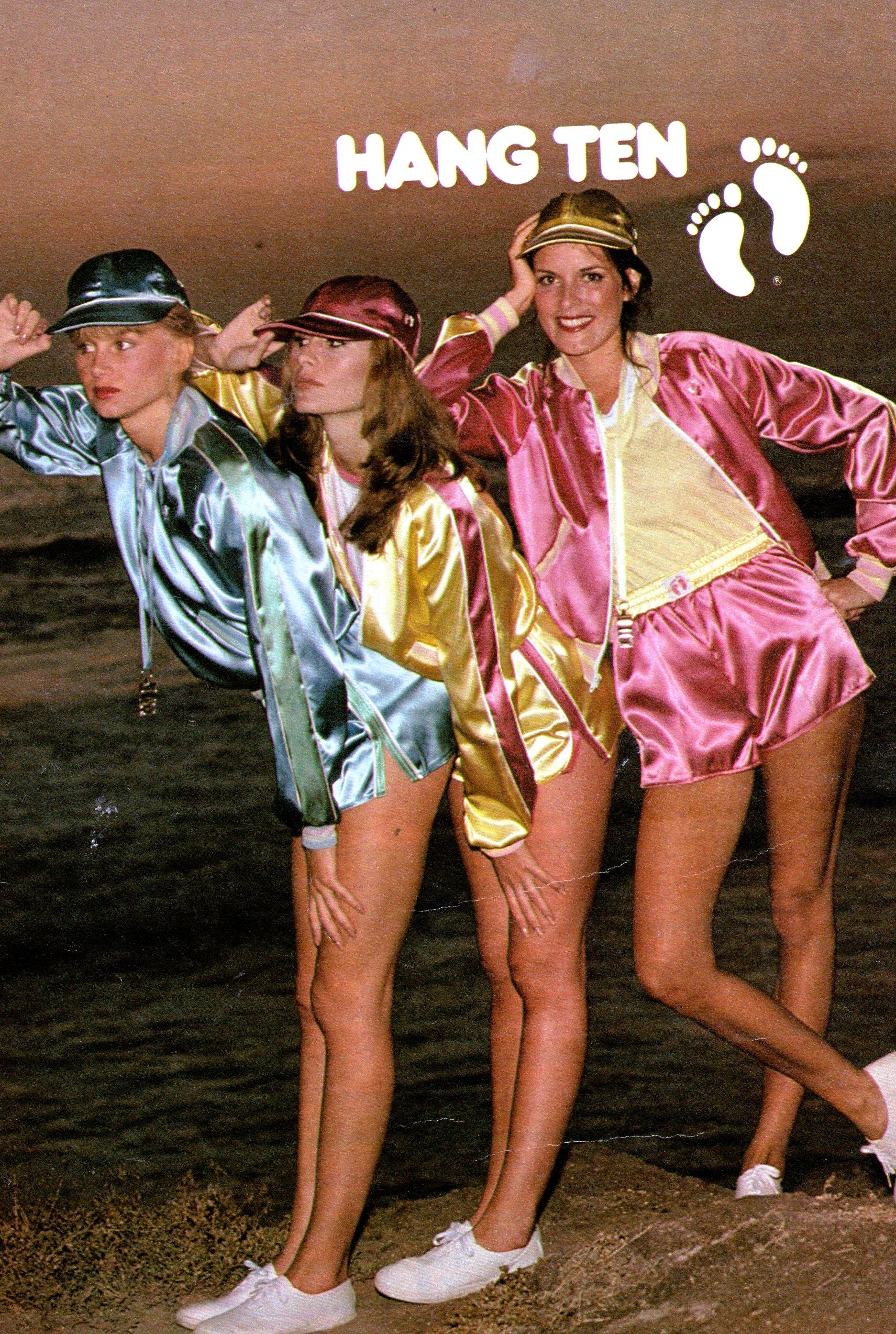 Hang Ten Ad From 1979 I Loved These Satin Jackets As A -2755