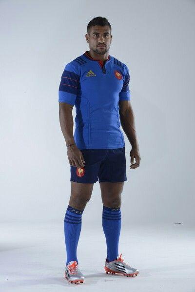 3d5ba79a3baf Nouveau maillot Adidas  allbleus (Wesley Fofana) Équipe De France, Rugby,  Adidas