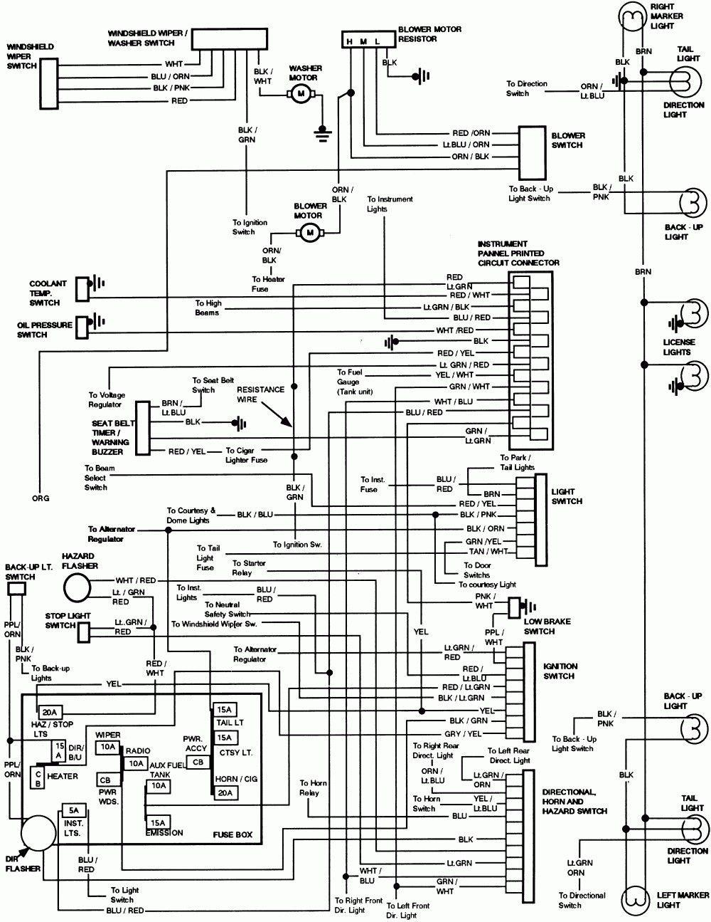 1997 Toyota Tacoma Radio Wiring Diagram