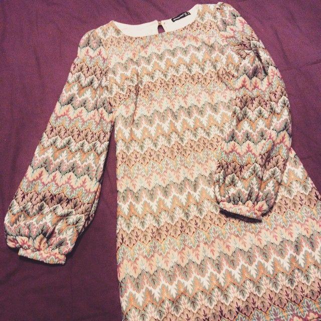 Primark boho crochet dress. instagram.com/adeline.brg