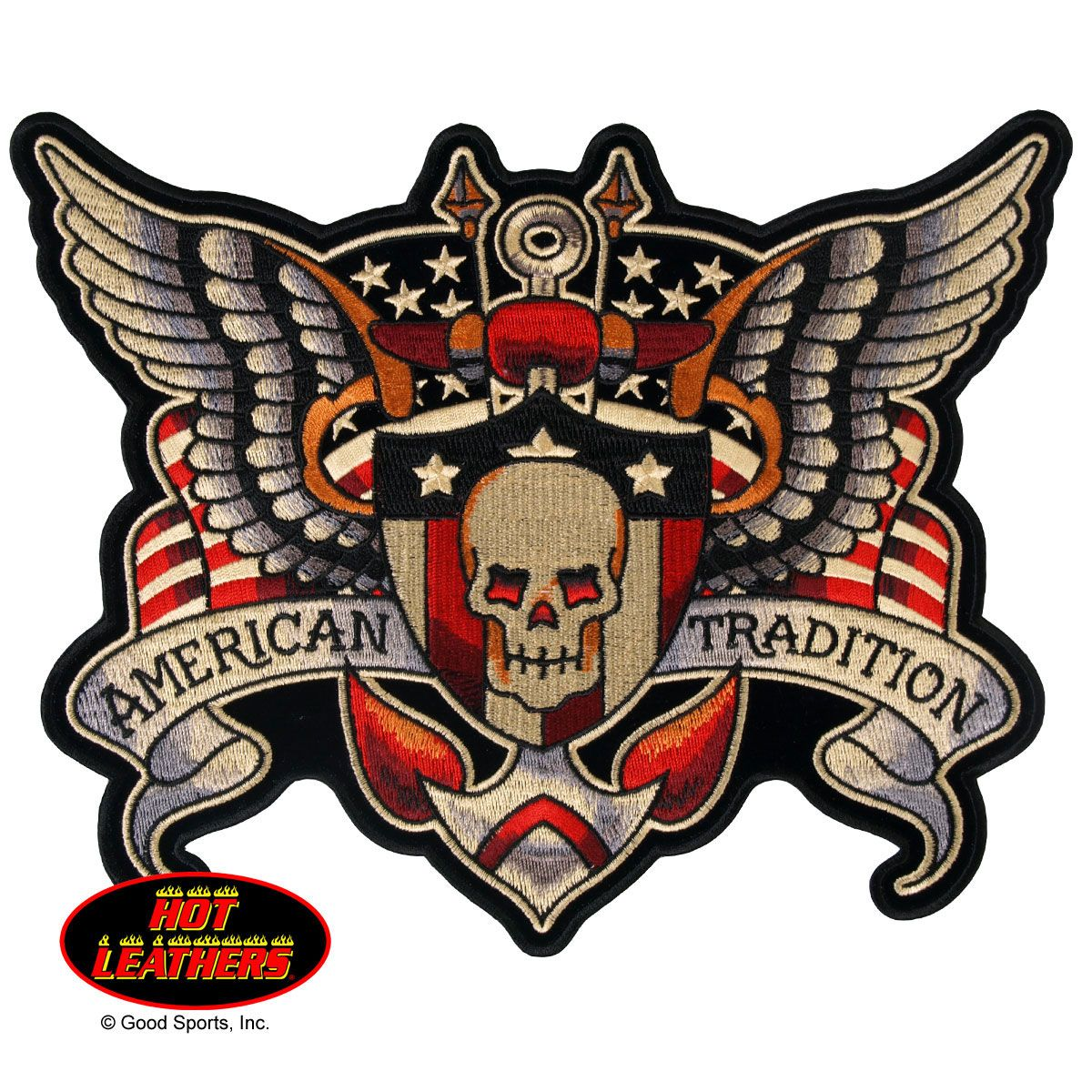 Hot Leathers American Tradition Patch