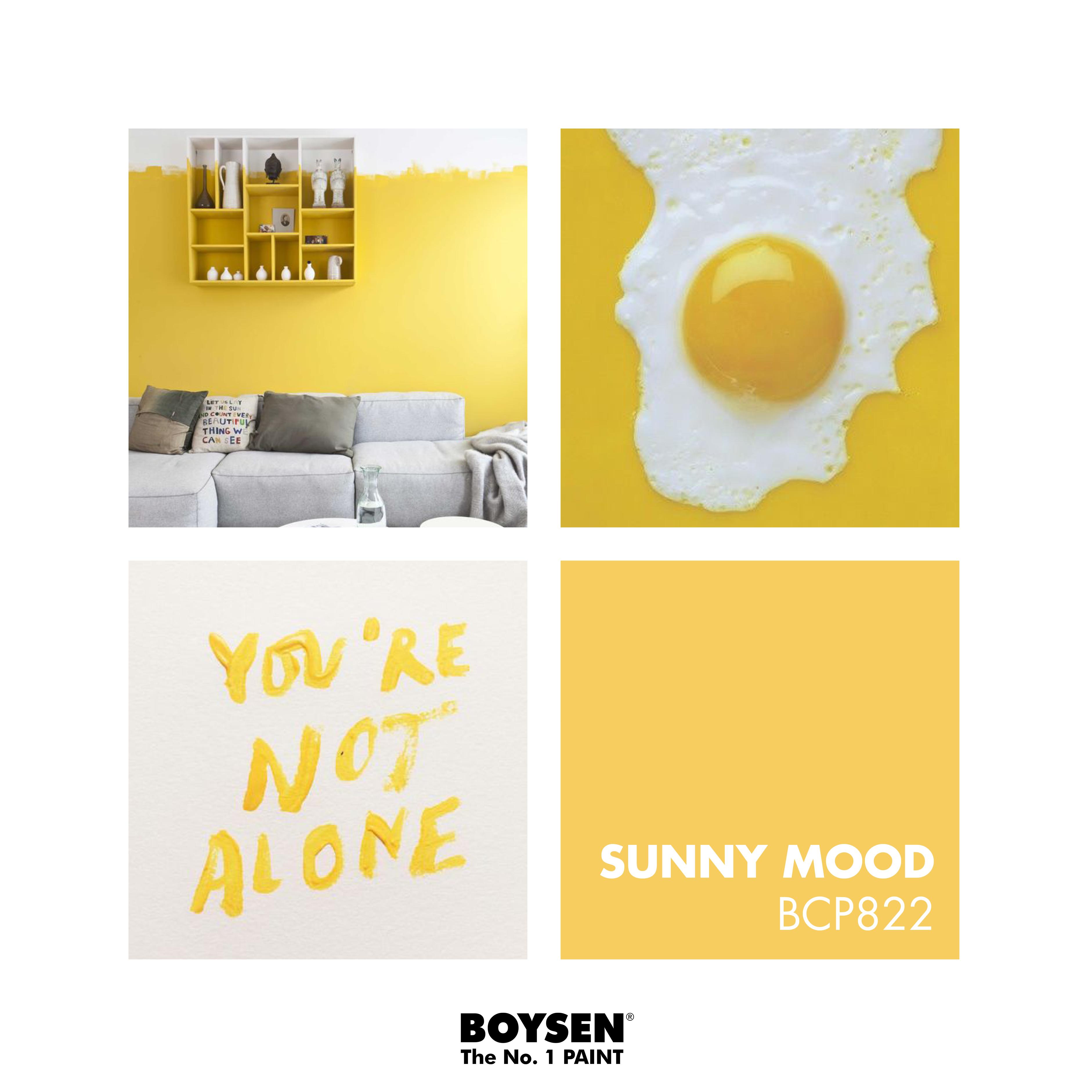 Featured Color: BOYSEN Color Palette BCP822 Sunny Mood #boysenpaints ...
