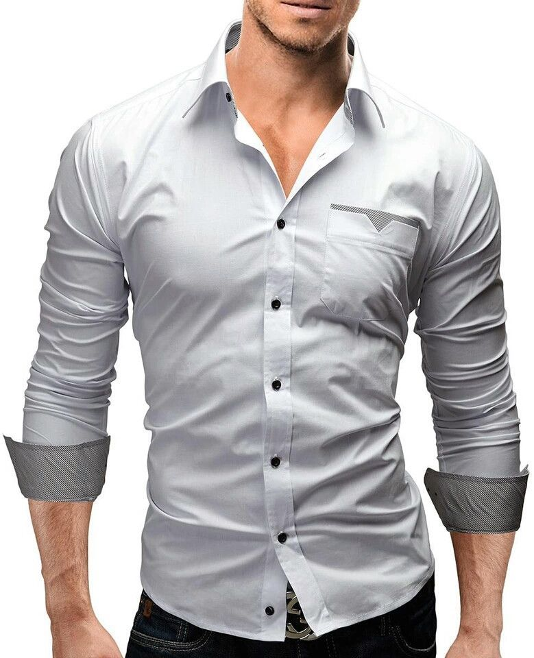 24574ebaed34f Mens slim fit Long sleeve shirts