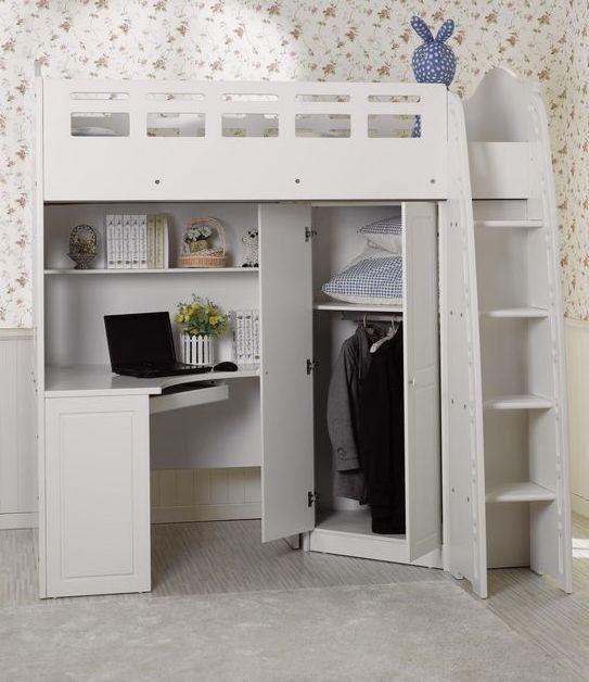 Lourve Loft Bed King Single Loft Bed Loft Beds For Teens