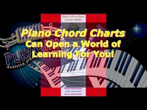 Piano Chord Charts Can Open A World Of Learning For You Http