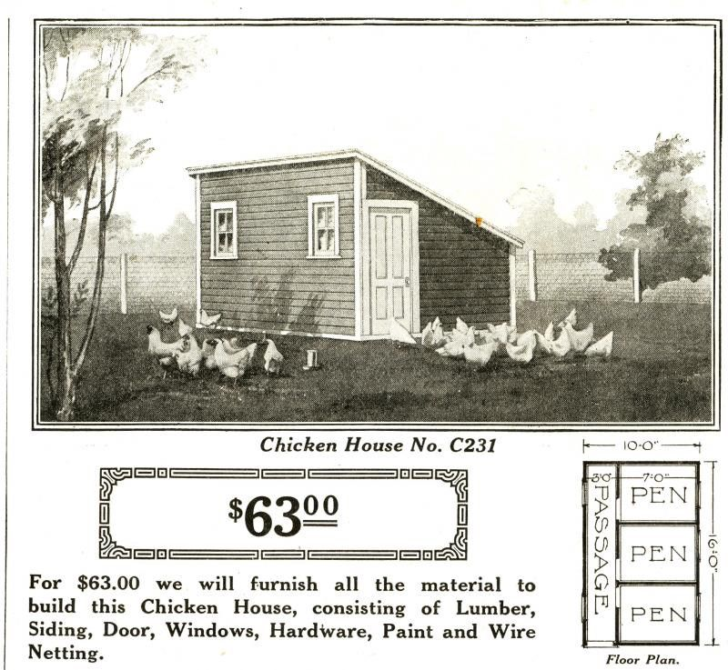 Historic Hen / Brooder Houses Shed-Style Roof (esp. 1930\'s & 1940\'s ...