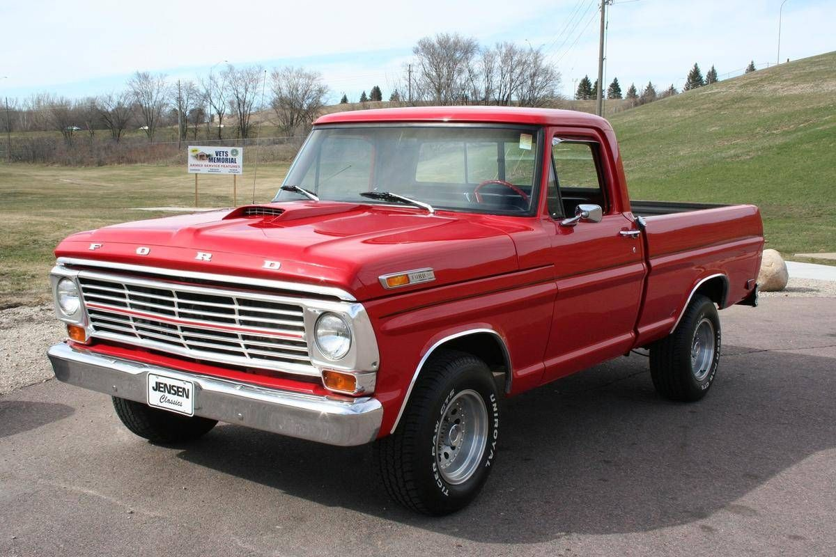 1968 Ford F100 Maintenance Restoration Of Old Vintage Vehicles The Material For New Cogs Casters Gea Ford Pickup Trucks Old Pickup Trucks Classic Chevy Trucks