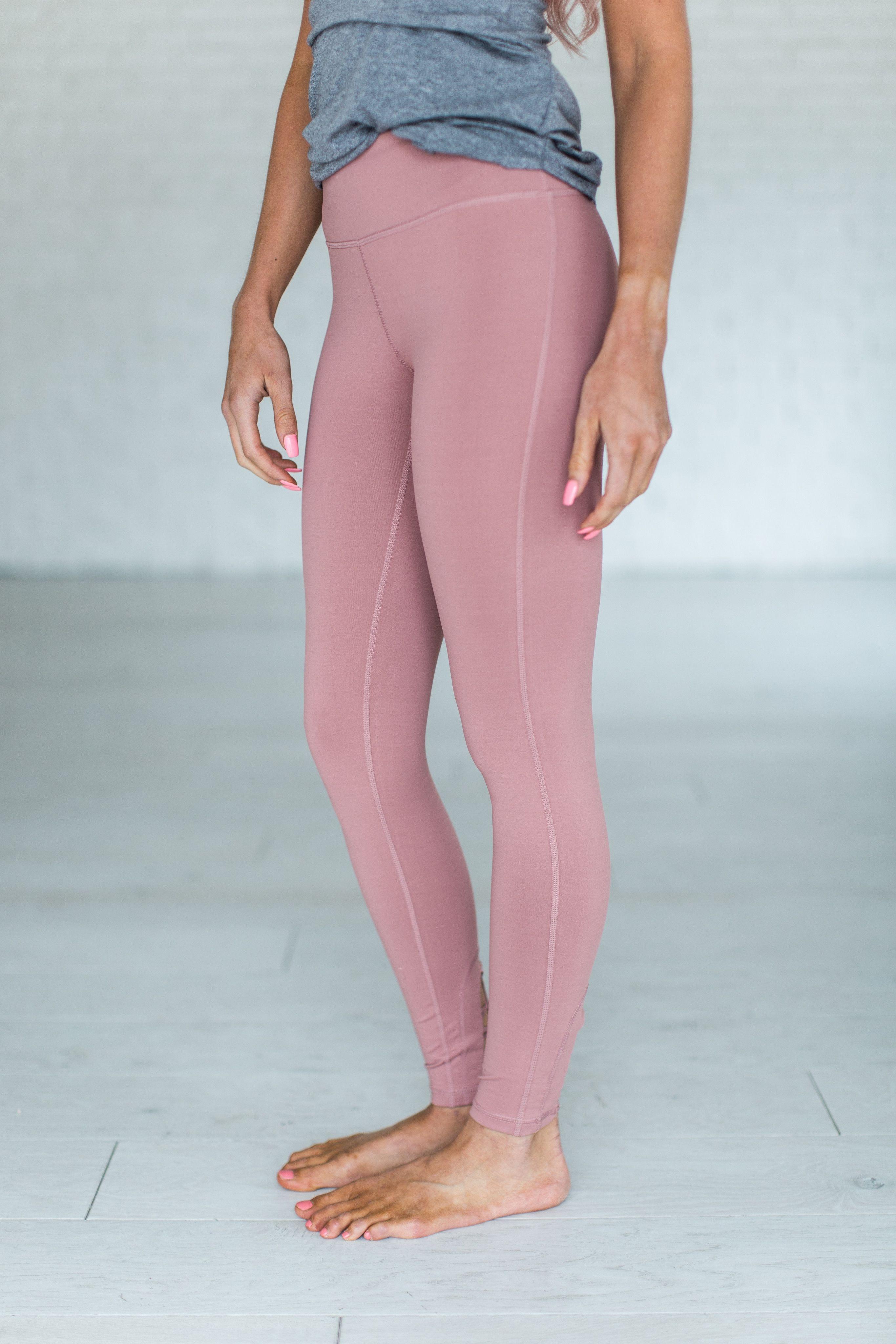 e8c42d93fd887 Dusty Pink Leggings