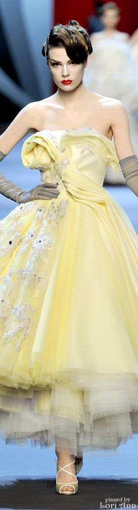 Christian Dior Couture Spring 2011