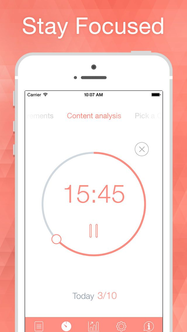 Be Focused Focus Timer App Ranking and Store Data App